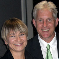 Mike and Urszula Witherell