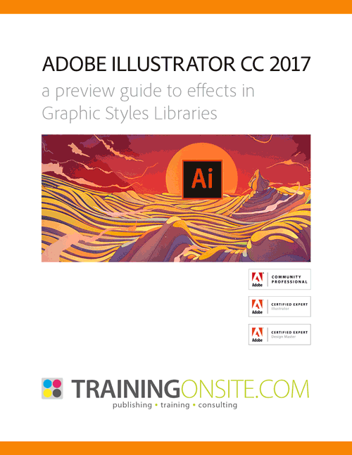 Illustrator CC 2017 graphic styles
