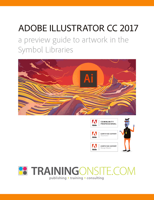 Illustrator CC 2017 symbols libraries