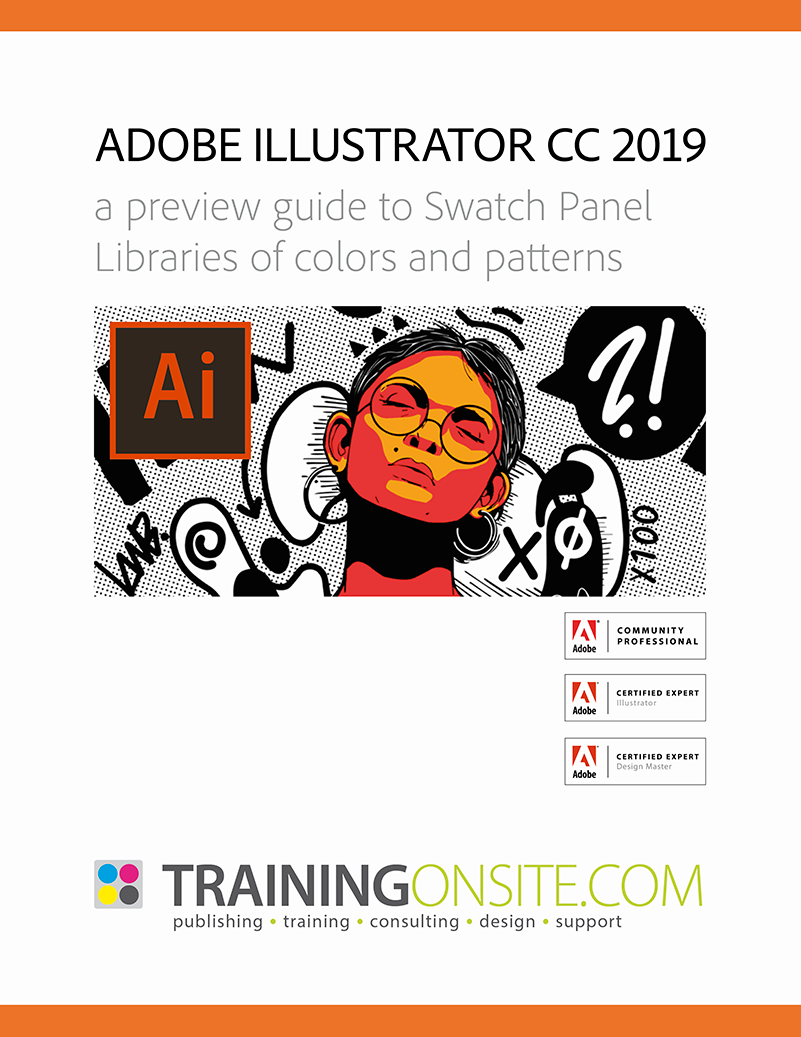 Illustrator CC 2019 swatches