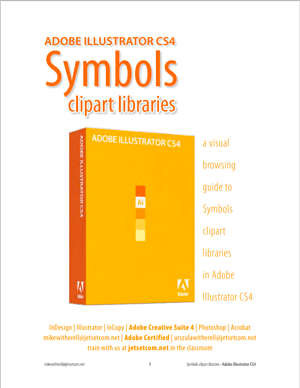 Illustrator CS4 symbols library guide