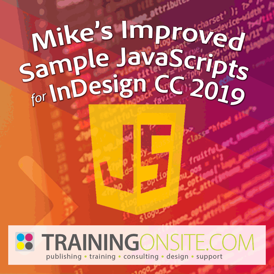 Mikes Improved Sample JavaScripts 2019