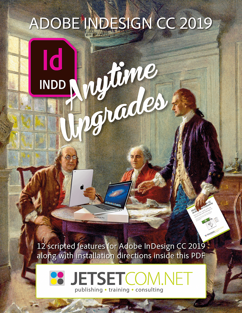 Mike's InDesign CC 2019 Anytime Upgrade