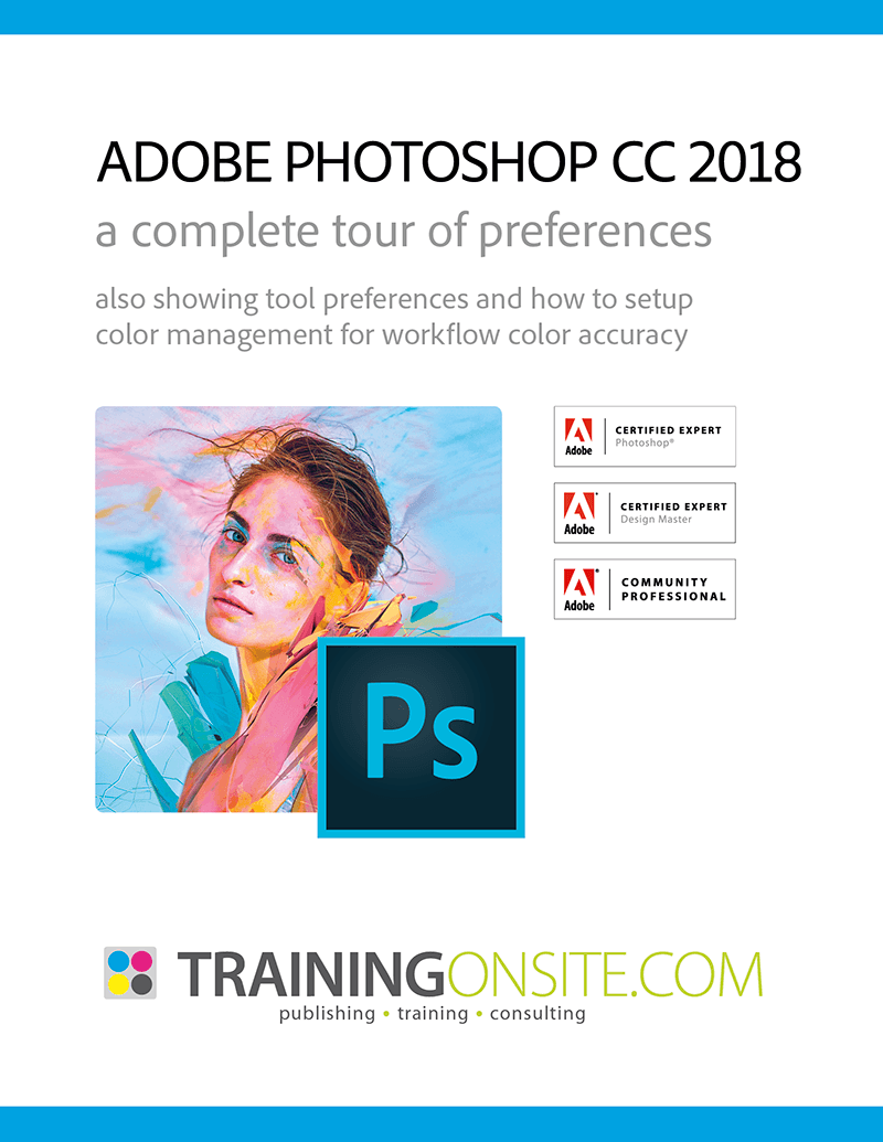 Photoshop CC 2018 tour of preferences
